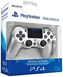 Sony - Dualshock 4 V2 Mando Inalámbrico, Color Plateado (PS4)
