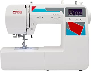 Janome MOD-100 Computerized Sewing Machine with 100 Built-In Stitches, 7 One-Step Buttonholes, Drop Feed and Accessories