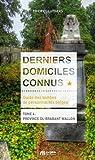 Derniers Domiciles Connus - Province du Brabant