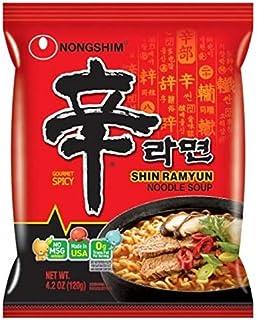 Curry Ramen Shin Noodles Spicy