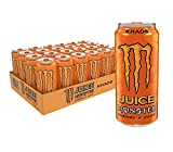 Juice Monster Khaos, Energy Drink, 16 Ounce (Pack of 24)