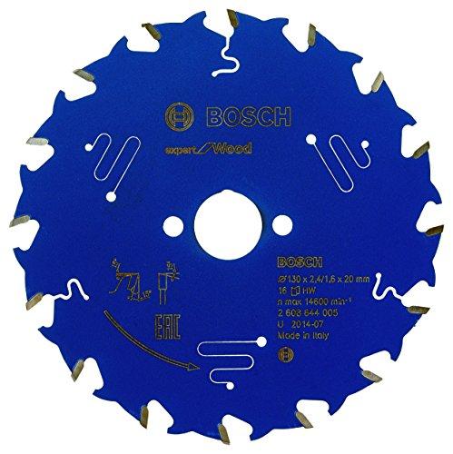 BOSCH 2608644005 - Disco de sierra circular CSB Expert madera: 130x20x16D