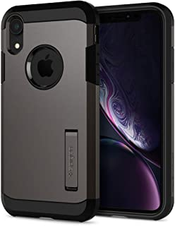 Spigen iPhone XR Case, Flexible TPU Hard PC Shield, Kickstand, Gray
