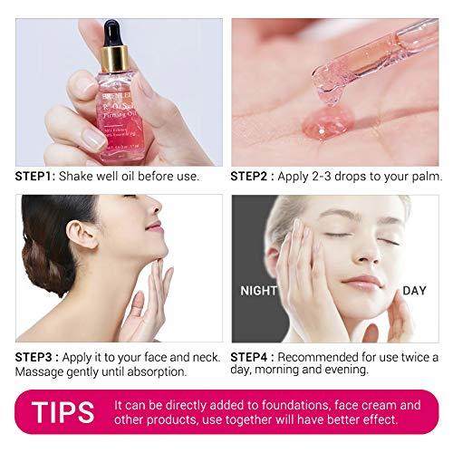51X4na+dMQL - Rose Facial Serum, BREYLEE Firming Facial Oils with Hyaluronic Acid Anti-Aging Serum for Moisturizing Nourishing Face Skin Care (17ml, 0.61oz)