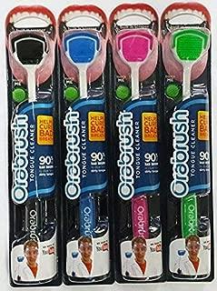 Orabrush Tongue Cleaner - 4 Brushes