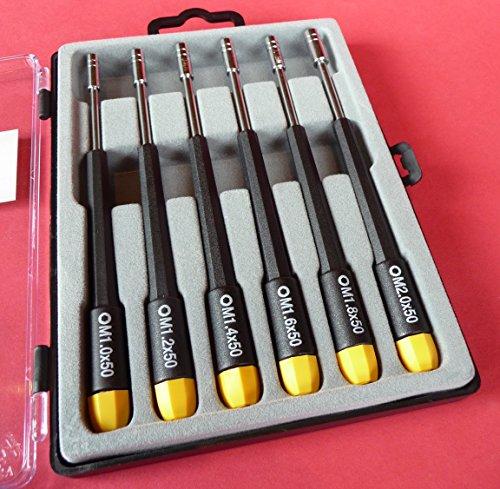 WIM-Modellbau Mini Sechskant STECKSCHLÜSSEL 6 teilig von 2,5 bis 4mm in Top QUALITÄT