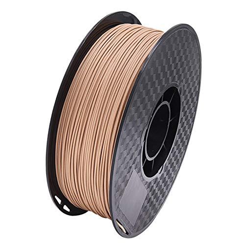 Filamento PLA WOOD 1,75 mm, filamento per stampante 3D, aggiungi polvere di legno naturale, senti il respiro della natura-PLA + LEGNO 1kg