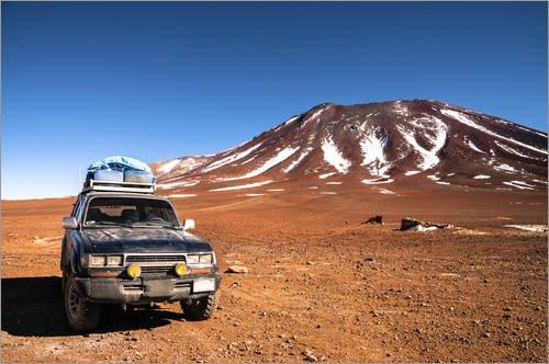 Póster 130 x 90 cm: Land Rover Safari in Peru de Editors Choice - impresión artística, Nuevo póster artístico