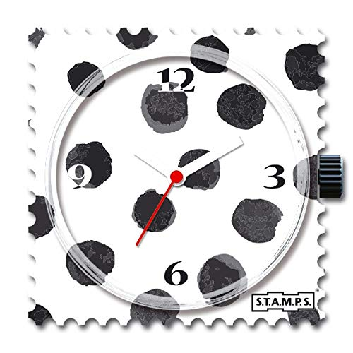 S.T.A.M.P.S. Stamps Uhr Zifferblatt Black Art 105397