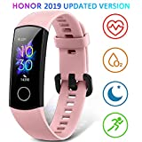 HONOR Band 5 Smartwatch Orologio Fitness Tracker Uomo Donna Smart Watch Cardiofrequenzimetro da Polso Contapassi Smartband Sportivo Activity Tracker, Rosa