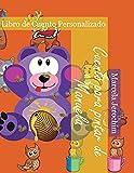 Cuento para pintar de Manuela: Libro de cuento Personalizado