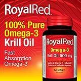 RoyalRed Krill Oil: 500mg, 120 Capsules