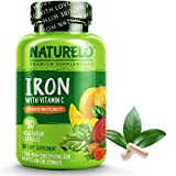 Best Iron Supplements - NATURELO Vegan Iron Supplement with Whole Food Vitamin Review