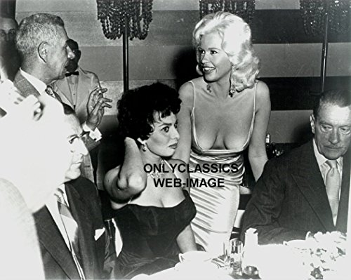 OnlyClassics 50's Sexy Jane Mansfield Sophia Loren Busty Cheesecake Candid Photo Iconic Pinup