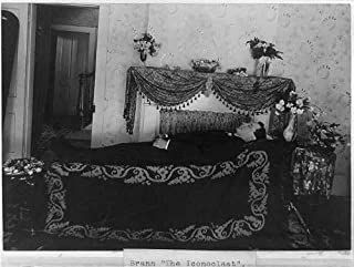 Infinite Photographs Photo: Brann,The Iconoclast,Man Lying on Funeral Parlor Bier,c1898