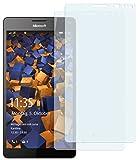 mumbi Schutzfolie kompatibel mit Microsoft Lumia 950 XL Folie klar, Bildschirmschutzfolie (2X)