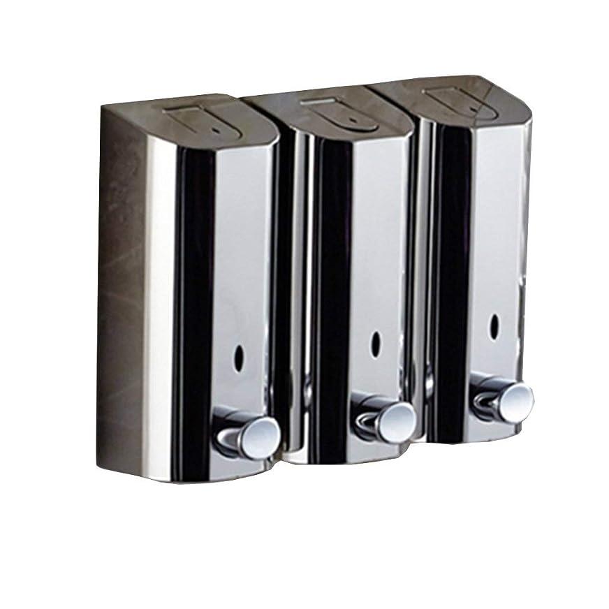 溶接アパート移動するKylinssh タッチレスソープディスペンサー、500 ml * 3自動液体ディスペンサー、防水、漏れ防止、タッチレスソープディスペンサー、キッチン、バスルーム