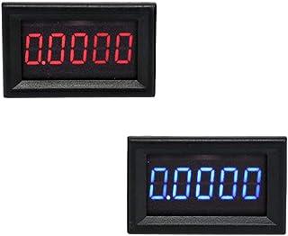 Taidacent High-precision 5 Digit volt amp meter DC Ammeter display Digital Display mA Ammeter Digital Ammeter and Voltmete...