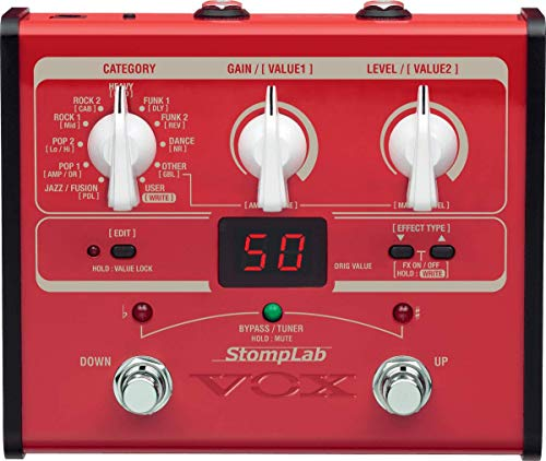VOX STOMPLAB1B Modeling Bass Guitar Multi-Effects Pedal (japan import)