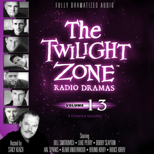 The Twilight Zone Radio Dramas, Volume 13 copertina