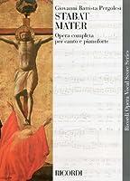 ペルゴレージ: スタバト・マーテル(ラテン語)/リコルディ社/ピアノ伴奏付合唱ヴォーカルスコア