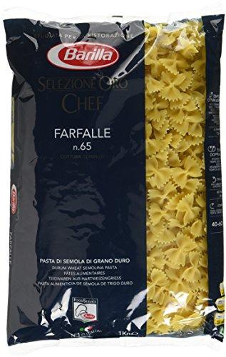 Barilla Selezione Oro Chef Farfalle n. 65, 3er Pack (3 x 1kg)