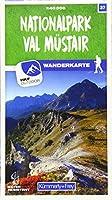 Nationalpark - Val Muestair 37 Wanderkarte 1:40 000 matt laminiert