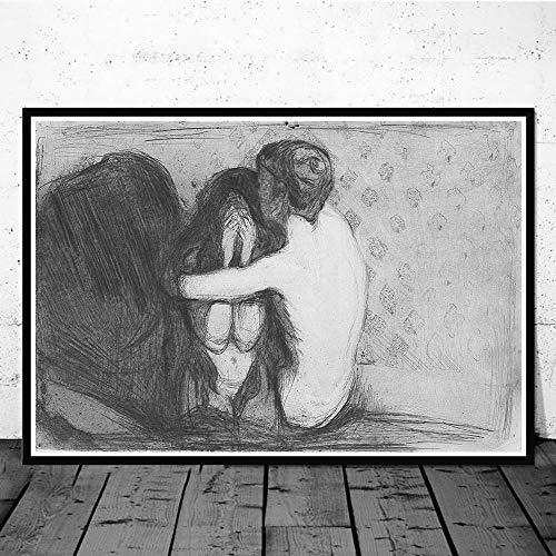 Edvard Munch Dipinti Arte Decorazioni Parete Arte Soggiorno Camera Camera da Letto Parete...
