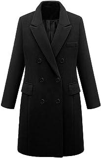 4ac3fc162a135 LISTHA Trench Jacket Plus Size Women Winter Lapel Wool Coat Long Parka  Overcoat