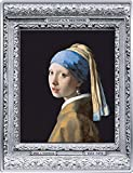Power Coin Girl with A Pearl Earring Vermeer Masterpieces of The Museum Coloreada 1/2 Kg Kilo Moneda Plata 250€ Euro France 2021