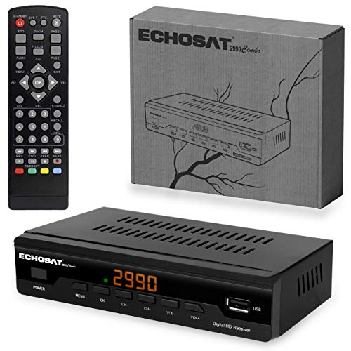 pas cher un bon Récepteur de câble combiné de ligne HD – Décodeur TNT HD DVB-T / T2 et DVB-C / C2 pour TV -…