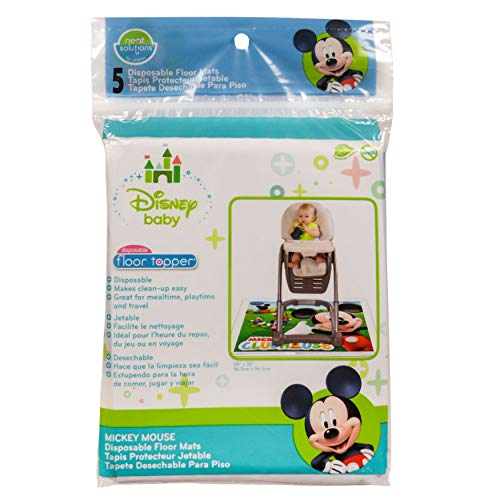 Product Image of the Neat Solutions Mickey Mouse Disposable Floor Topper - 5 count