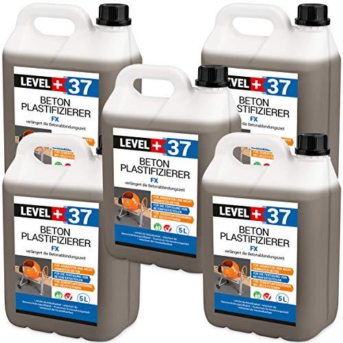 25 L de Plastifieur béton Additif béton liquide chape retardateur RM37