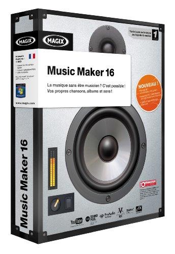 MAGIX Music Maker - (version 16 ) - ensemble complet - 1 utilisateur - DVD - Win - français