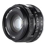 Meike Optics 50mm f 2.0Manual Enfoque Objetivos para Sony E–Mount Negro