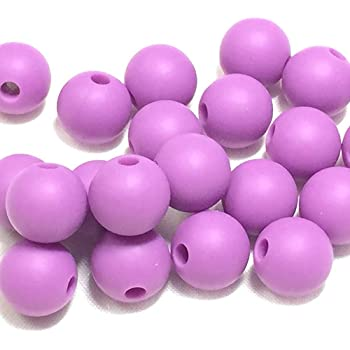 Food Grade BPA Free for Teething Beads 1 Silicone Lavender Teardrop Pendant