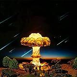 SHSM Lámpara de Explosión Nuclear Gyw, Lámpara de Nube de Seta 3D Creativa con 3/7 Color Cambiante, Lámpara de Mesa de Impresión Hecha a Mano Lámpara de Mesa para Niños para Niños Decoraci
