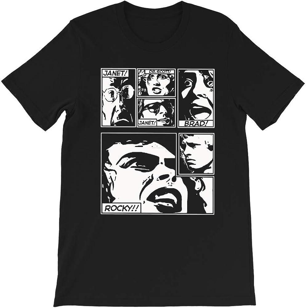 Rocky Horror T Shirt picture show janet brad dr scott frank furter musical gift