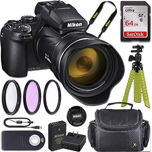 Nikon COOLPIX P1000 Camera + Accessory Bundle
