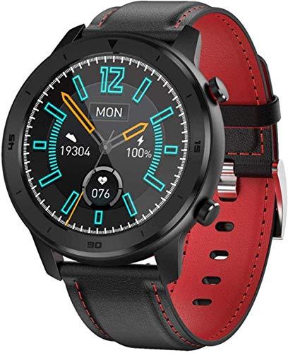 Reloj inteligente para hombre con seguimiento de actividad física y reloj inteligente para monitoreo del sueño, reloj de pulsera para hombre con pulsera inteligente para iOS Android (color: D)-B