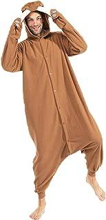 Animal Walrus Onesie Pijamas para Adultos Unisex Polar Fleece Cosplay Disfraz Disfraz