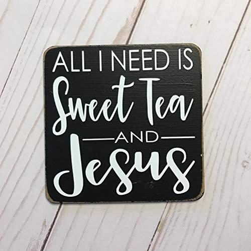 prz0vprz0v alles wat ik nodig heb is zoete thee en Jezus keuken magneet opslag spullen speciale grappige magneet decor