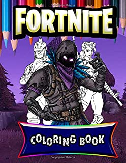 Fortnite Coloring Book: Premium Unofficial Coloring Book for Kids and Teens