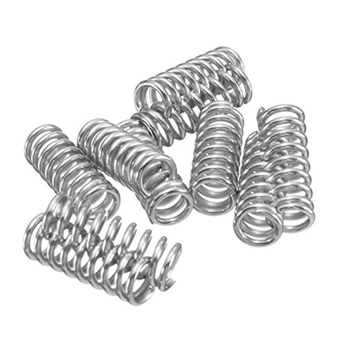 Iycorish 10pcs Leveling Spring Accessories for 3D Printer Extruder Heated Bed Ultimaker Makerbot