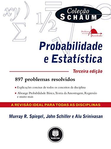Probabilidade e Estatística (Coleção Schaum)