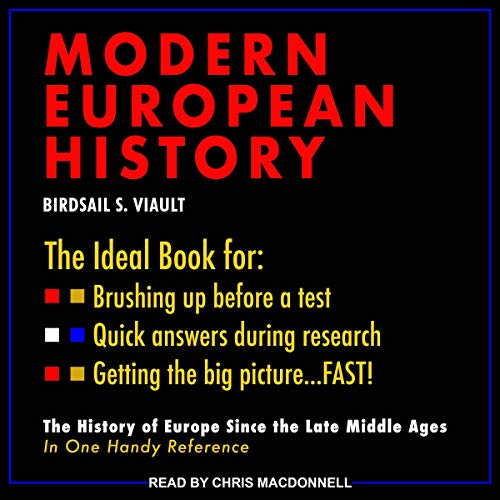 Schaum's Outline of Modern European History audiobook cover art