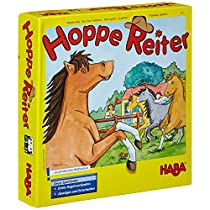 Haba-4321-Hoppe-Reiter-Juego-infantil-sobre-caballos-en-aleman-colormodelo-surtido