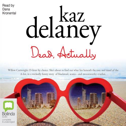 Dead, Actually audiobook cover art