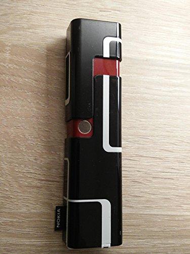 Original para Notebook Nokia 7280B de Cover parte central Negro Rojo