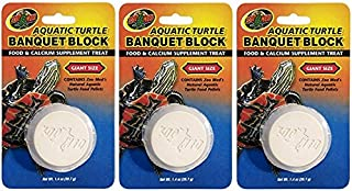 (3 Pack) Zoo Med Aquatic Turtle Banquet Block (Giant)